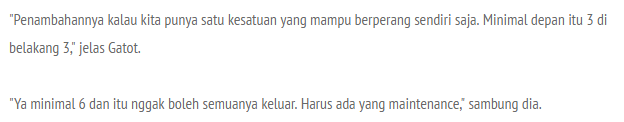 Setujukan Anda Dengan Pernyataan ini ? Panglima TNI Jendral Gatot Nurmantyo : Kita Butuh 4 Kapal Selam Baru Untuk Perkuat Pertahanan Maritim ! - Commando