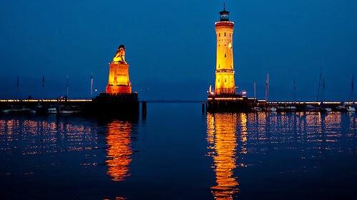 Beautiful Lighthouses around the World - Lindau Lighthouse, Germany