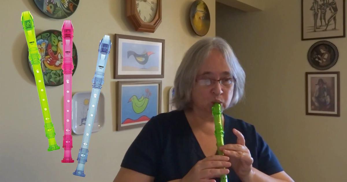Sáo recorder soprano yamaha yrs-24b
