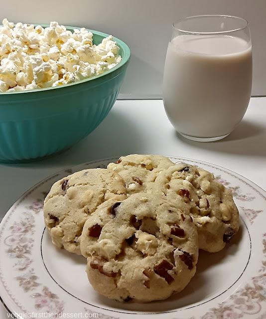 Veggies First Then Dessert: Indiana Popcorn Cookies