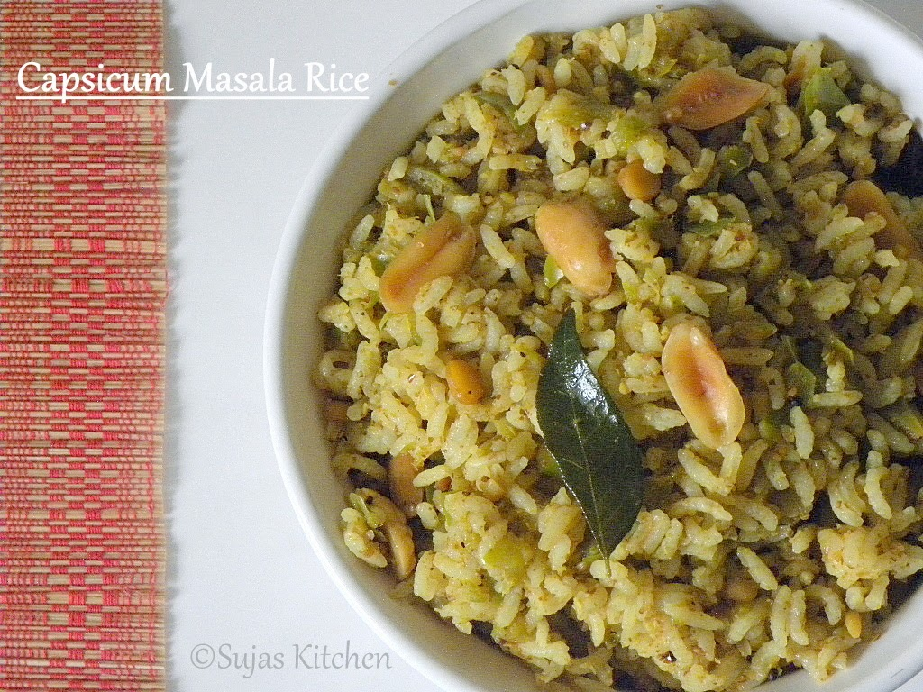 Bell Pepper Masala Rice