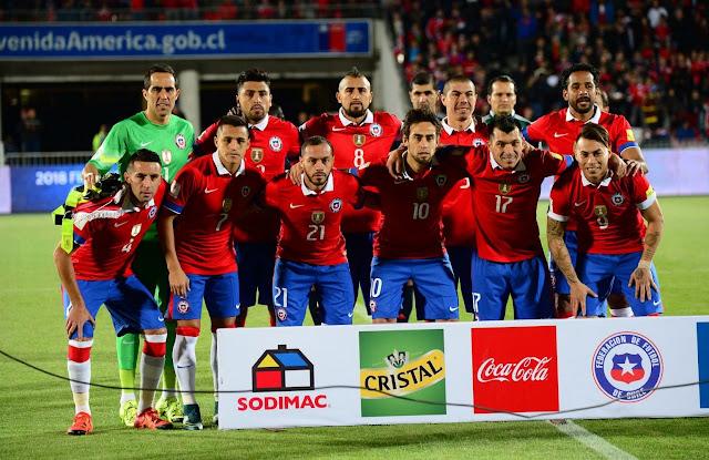 Formación de Chile ante Brasil, Clasificatorias Rusia 2018, 8 de octubre de 2015