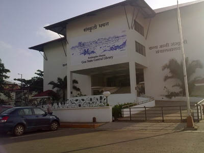 Goa State Central Library, Patto-Panaji(Krishnadas Shama state central library)