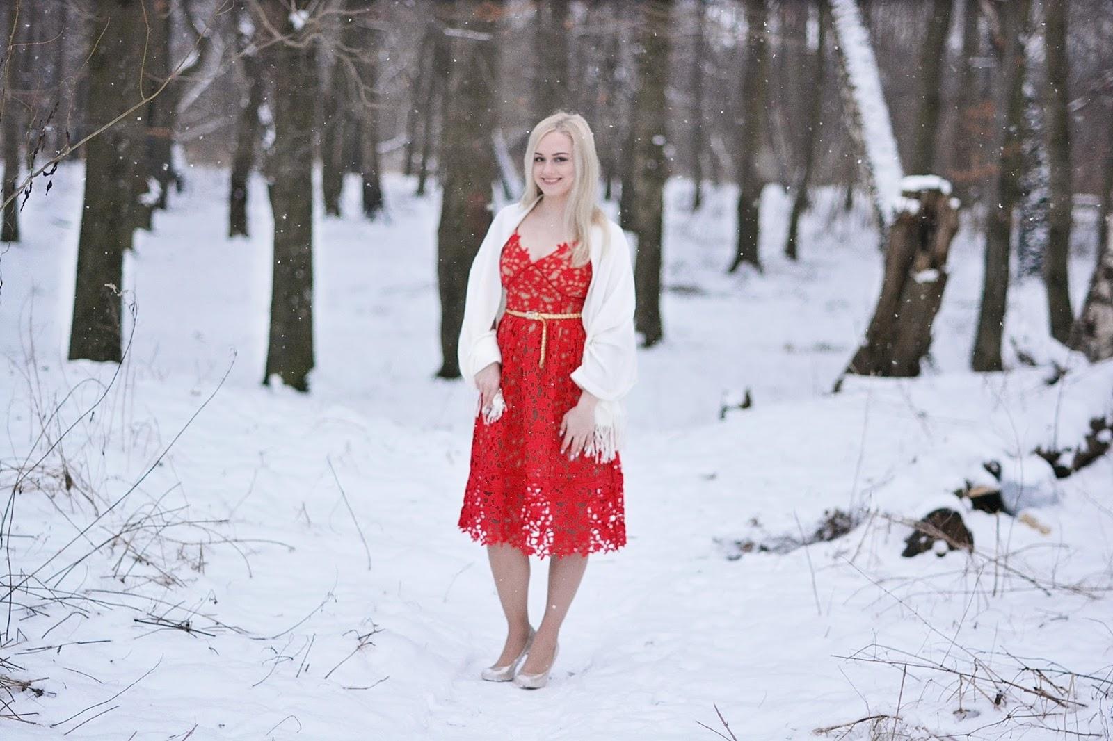 sukienka walentynkowa