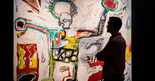 Basquiat on the BBC and at the Barbican