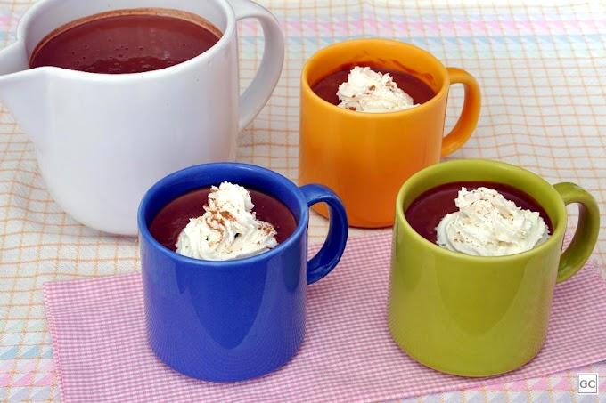 Como fazer Chocolate quente com canela?