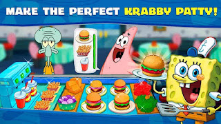 SpongeBob Krusty Cook-Off V1.0.15 MOD APK – ELMAS HİLELİ