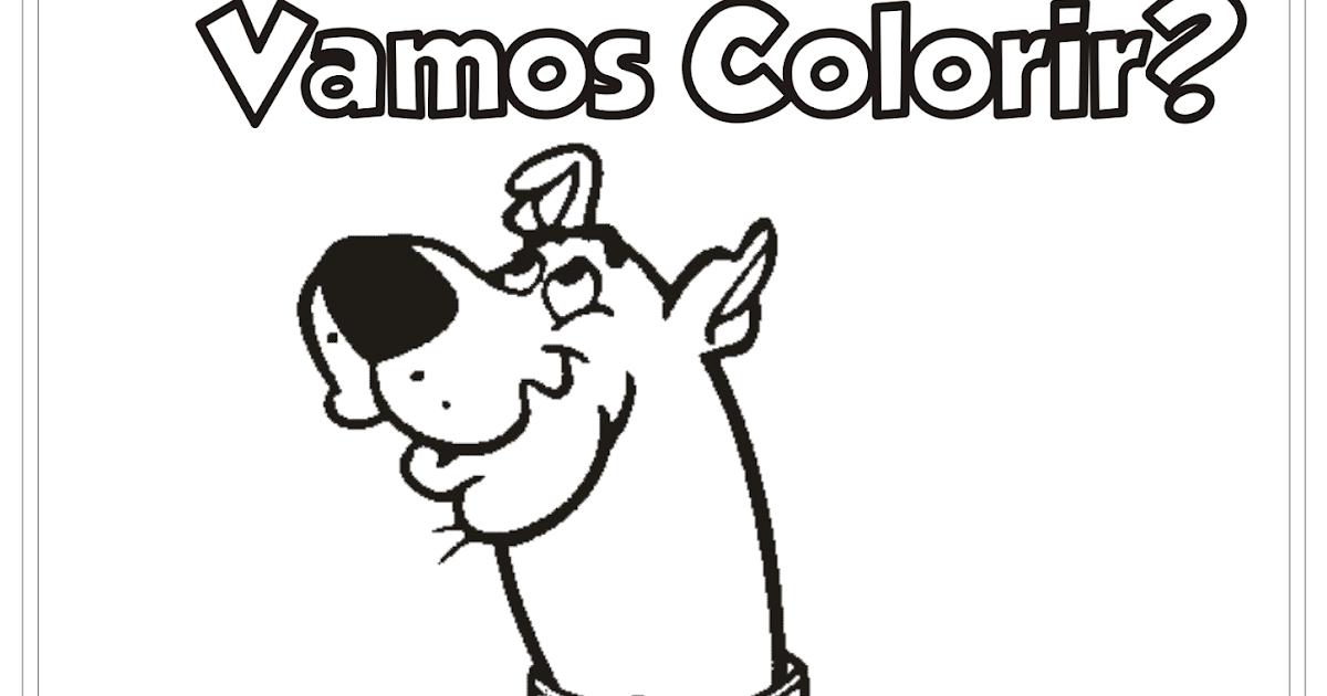 Scooby Doo Desenho Para Colorir