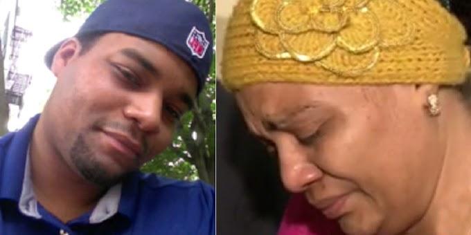 """""""No me queda una lágrima más para llorar"""" dice madre de dominicano desaparecido el 3 de diciembre"""