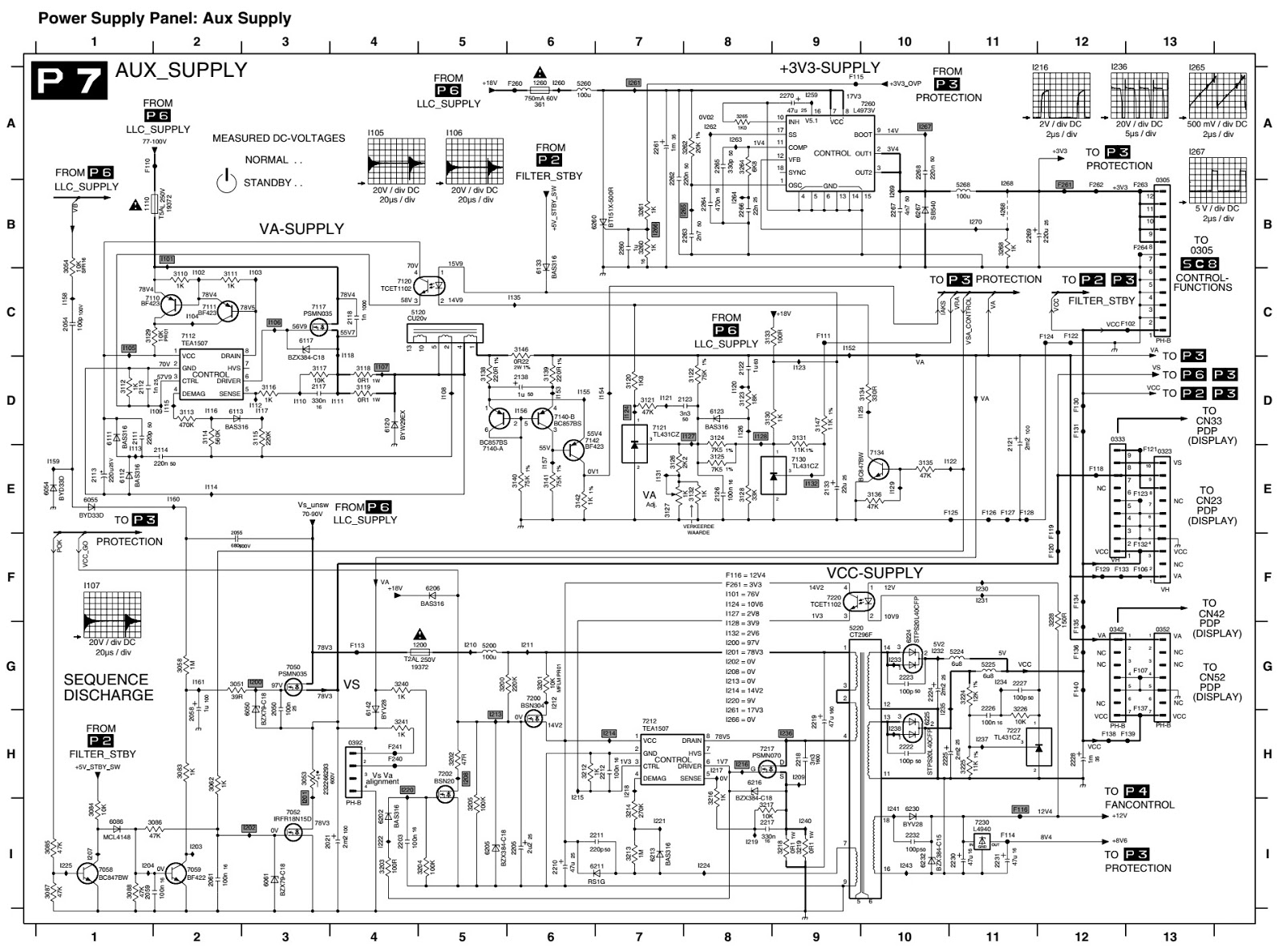 Touch to see the main digital board circuit diagram >>