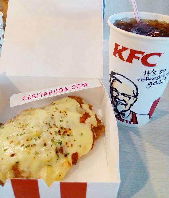 Sedap ke Chizza KFC?