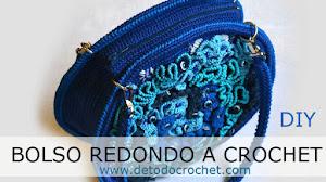 Bolso Redondo a Crochet / Paso a paso