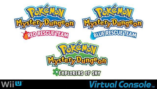 Nuevos juegos de Pokémon llegan a la Consola Virtual de Wii U en América