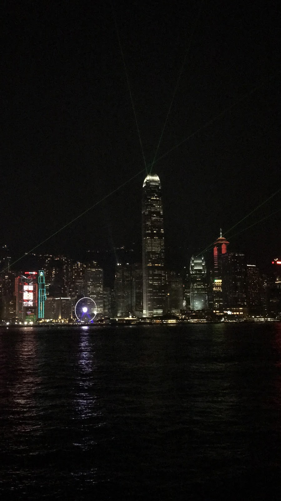 Symphony of Lights Show Hong Kong Skyline - Aspiring Londoner