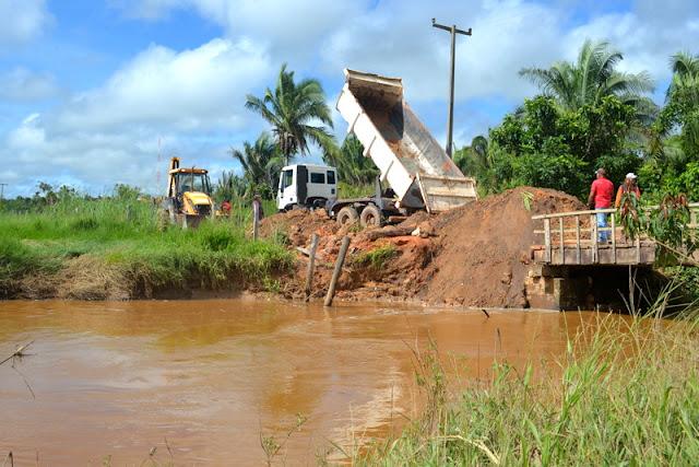 Prefeitura de Buritirana desobstrui estrada de acesso ao povoado Padre Josimo!!!