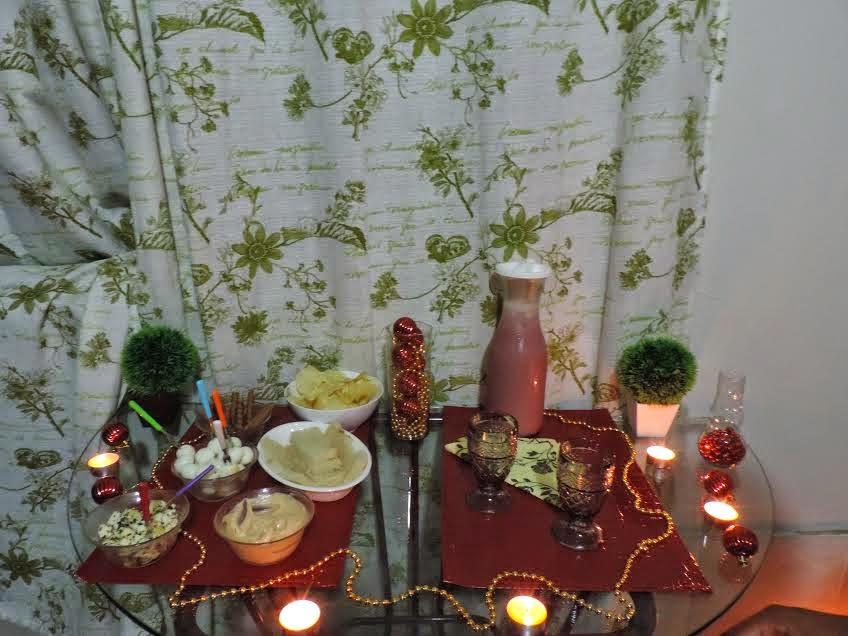 Jantar Romântico em clima de Natal