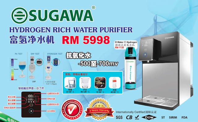 sugawa hydrogen water malaysia price