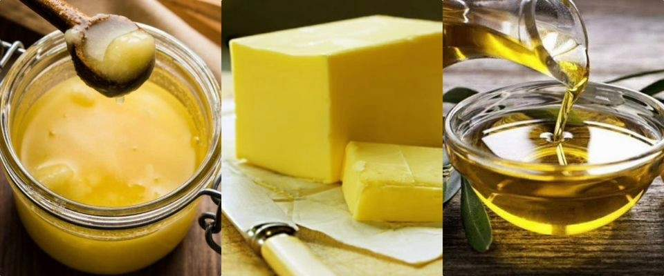 Butter or Ghee or Oil Health checkup?