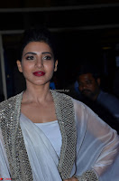 Samantha Ruth Prabhu cute in Lace Border Anarkali Dress with Koti at 64th Jio Filmfare Awards South ~  Exclusive 057.JPG
