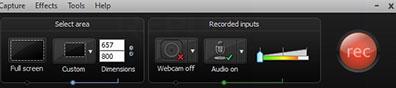 Camtasia studiao adalah alat untuk merekam dan edit video