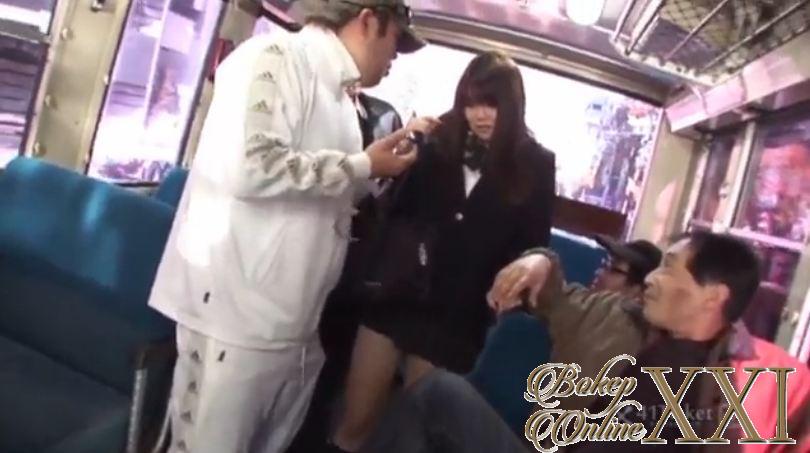 Bokep jepang pelajar kena perkosa dalam kereta