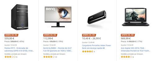 Ofertas de Amazon para el 16_01_18