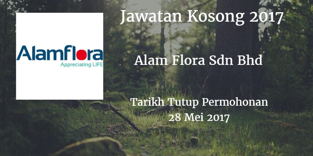 Jawatan Kosong Alam Flora Sdn Bhd 28 Mei 2017