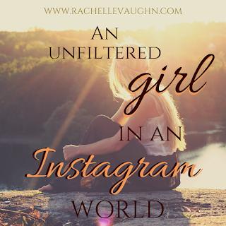 an unfiltered girl in an instagram world