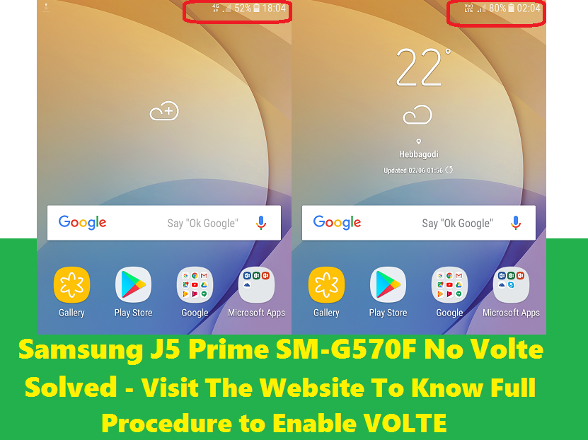 Solved] After Flash J5 Prime SM-G570F No VoLTE Solution - Free