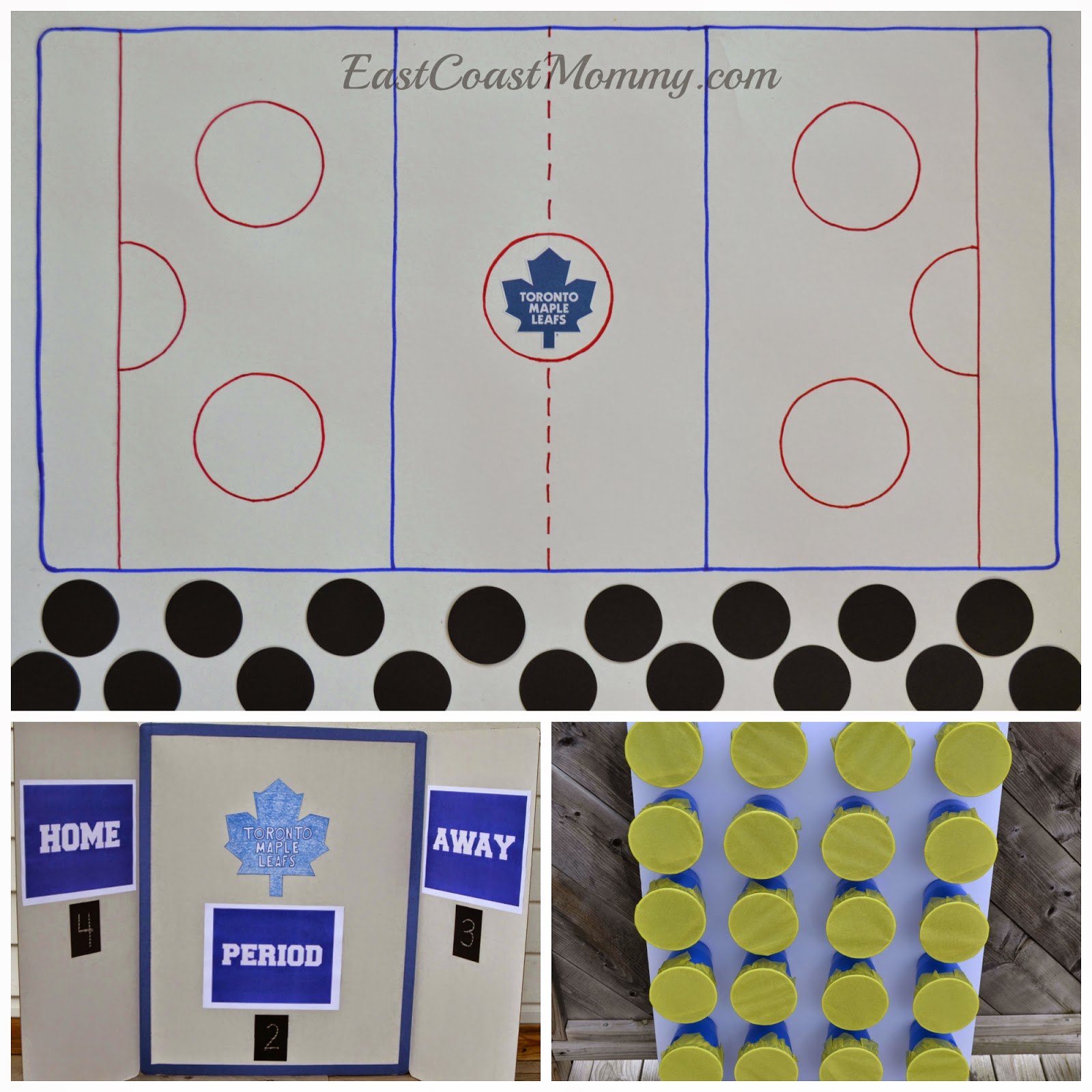 East Coast Mommy: The Ultimate DIY Hockey Party