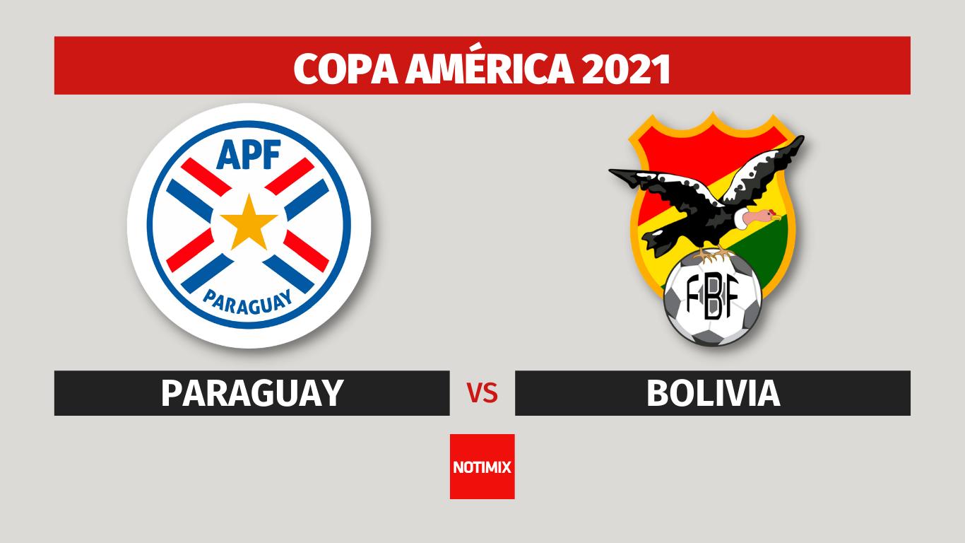 Copa America - Paraguay vs Bolivia en vivo