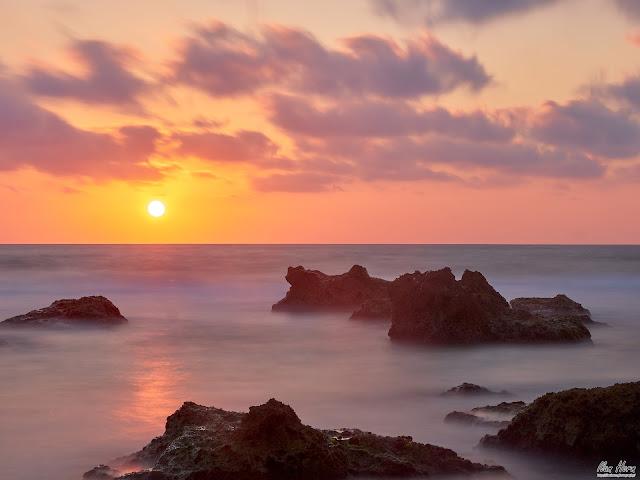Sunset at Gedor Beach