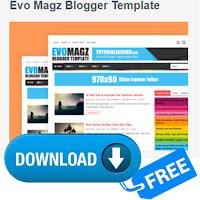 free download template evo magazine