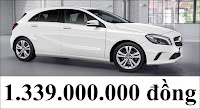 Giá xe Mercedes A200 2017