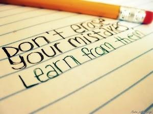Belajar Daripada Kesilapan