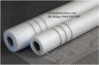 LTT14.1 Đặc điểm và ứng dụng của lưới sợi thủy tinh chống thấm, chống nứt trong xây dựng