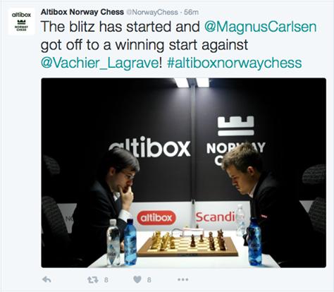 Les échecs ont leur roi, Magnus Carlsen - Photo © site officiel
