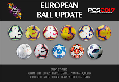 PES 2017 European Ballpack Repack by AKC_47