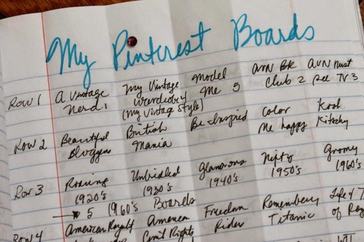 A Vintage Nerd Vintage Blog Nerd Tips Pinterest Organization Tips