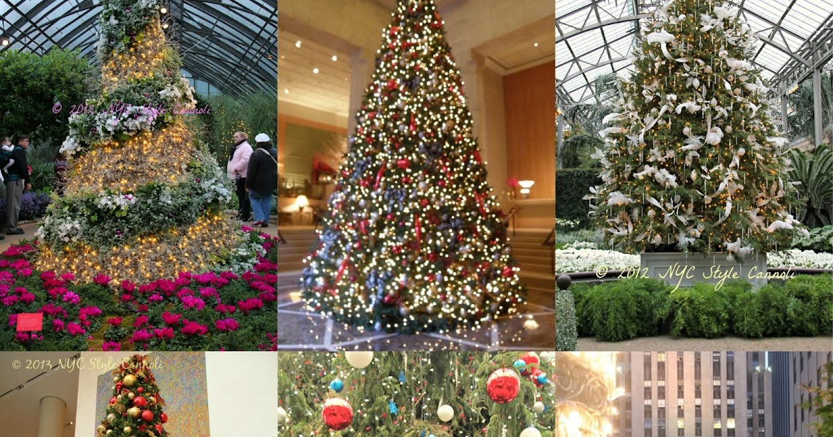 10 Best Christmas Trees In New York City