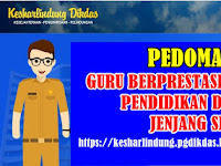 Pedoman Guru Berprestasi SD Tahun 2019