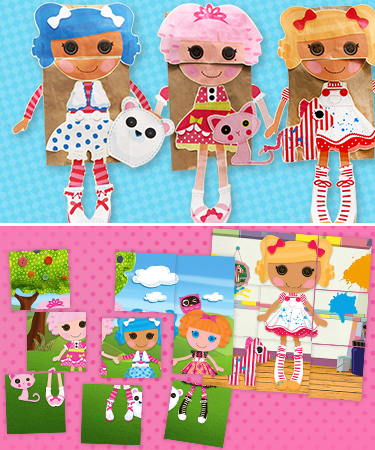 lalaloopsy coloring pages nick jr - photo#33