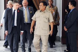Menteri Pertahanan (Menhan) Prabowo Subianto