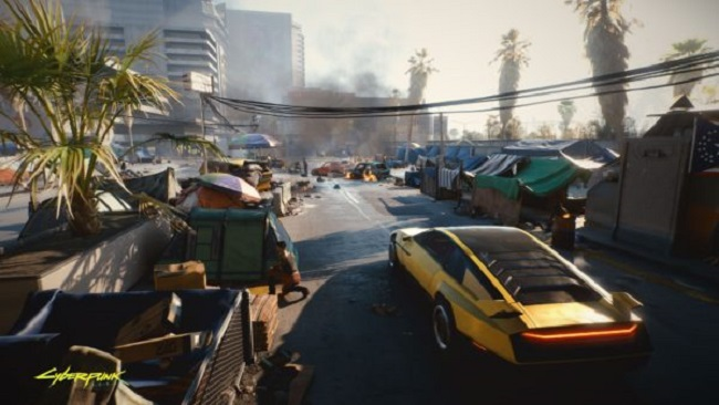 Disadvantages of Cyberpunk 2077 - Driving