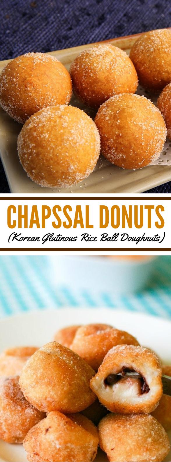 CHAPSSAL DONUTS (KOREAN GLUTINOUS RICE BALL DOUGHNUTS) #desserts #cake