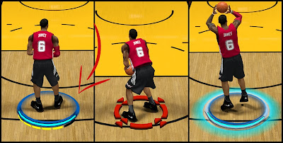 NBA 2K14 No Player Indicators Mod