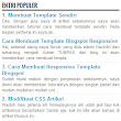 Cara Membuat Element Widget yang Sama di Blog - Indonesian Blogger Tutorial
