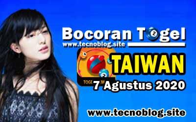 Bocoran Togel Taiwan 7 Agustus 2020