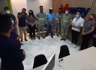 A Infoway inaugurou seu novo escritório na cidade de Picuí