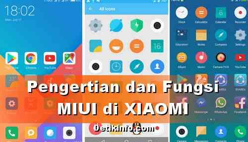 Pengertian MIUI di HP XIAOMI Android